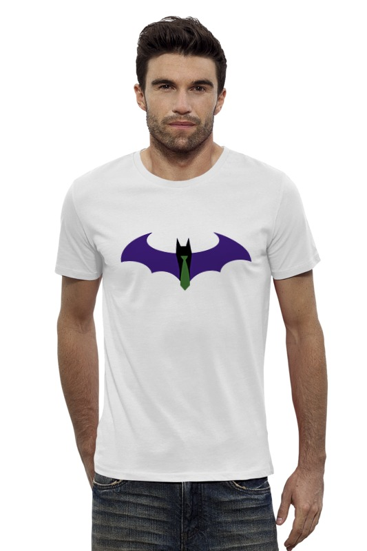 Футболка Wearcraft Premium Slim Fit Printio Batman x joker футболка wearcraft premium slim fit printio ice king x batman