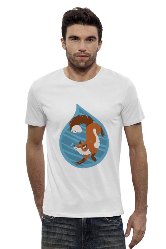 Футболка Wearcraft Premium Slim Fit Printio Лисичка футболка wearcraft premium slim fit printio vampire