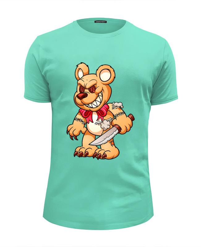 Футболка Wearcraft Premium Slim Fit Printio Фредди мишка футболка с полной запечаткой для девочек