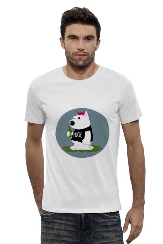 Футболка Wearcraft Premium Slim Fit Printio Bad dog футболка wearcraft premium slim fit printio gta 5 dog