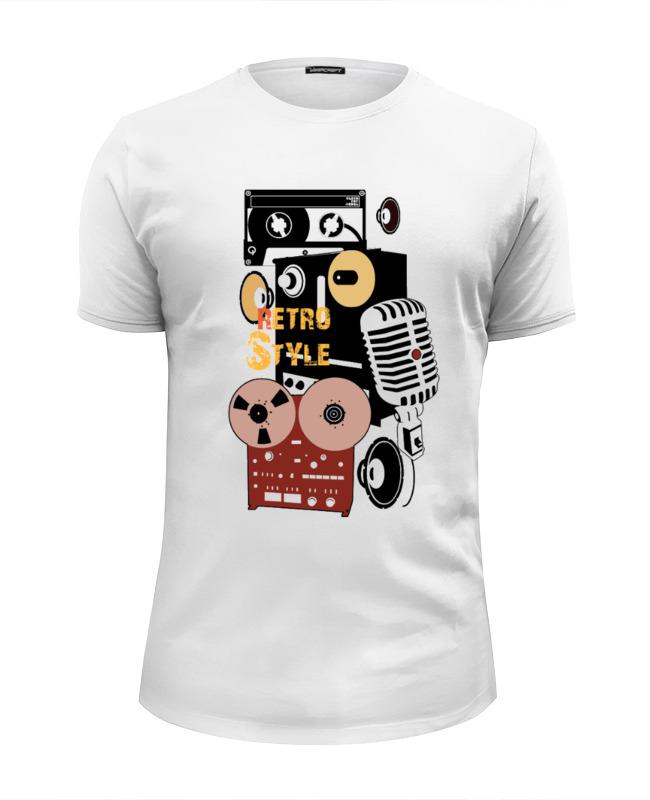 Футболка Wearcraft Premium Slim Fit Printio Retro music футболка wearcraft premium slim fit printio new order  music complete