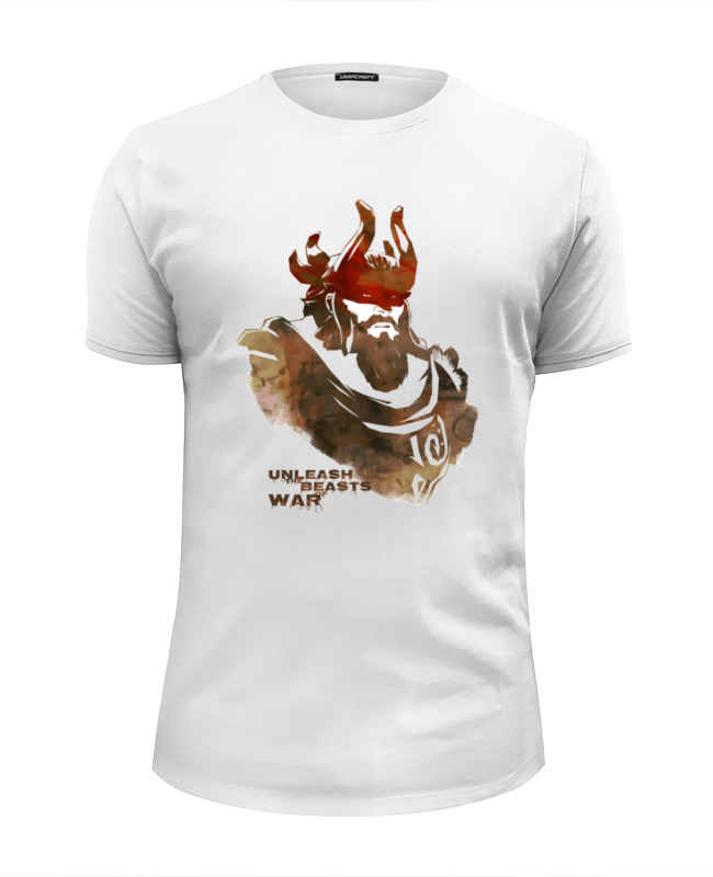 Футболка Wearcraft Premium Slim Fit Printio Dota 2 beastmaster (with text) футболка wearcraft premium slim fit printio dota 2 ancient apparation with text