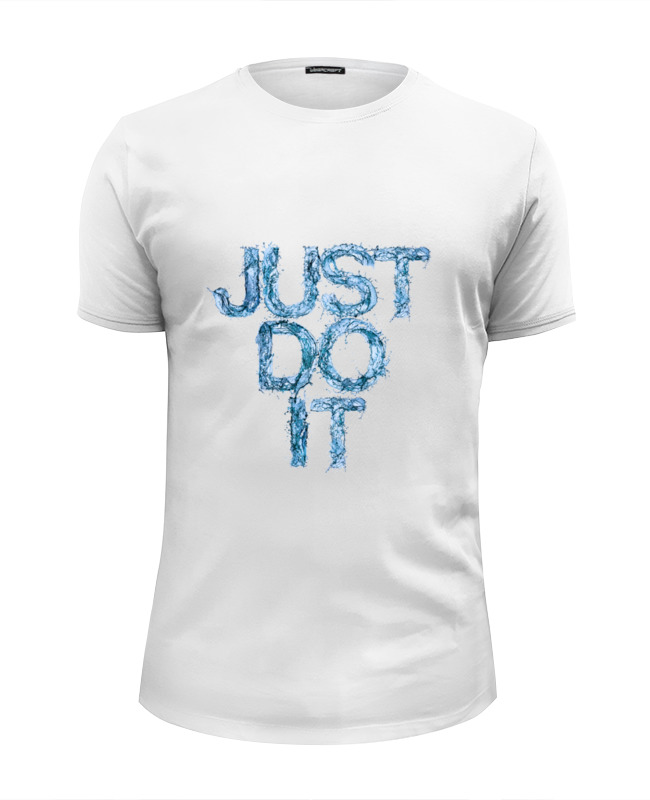 Printio Just do it футболка wearcraft premium slim fit printio just do it