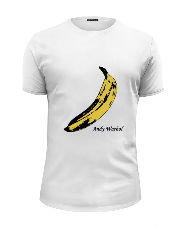 Футболка Wearcraft Premium Slim Fit Printio Andy banana кеды andy z andy z an048awisq69