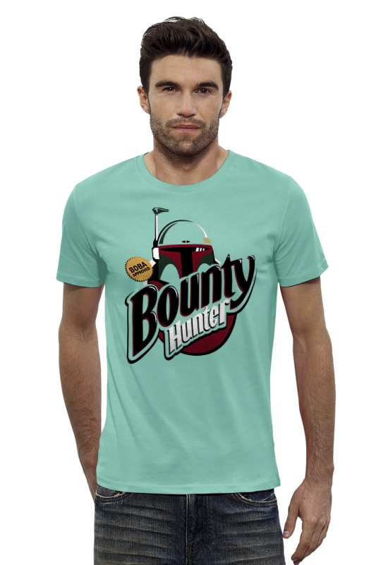 Футболка Wearcraft Premium Slim Fit Printio Bounty hunter металлоискатель bounty hunter discovery 2200