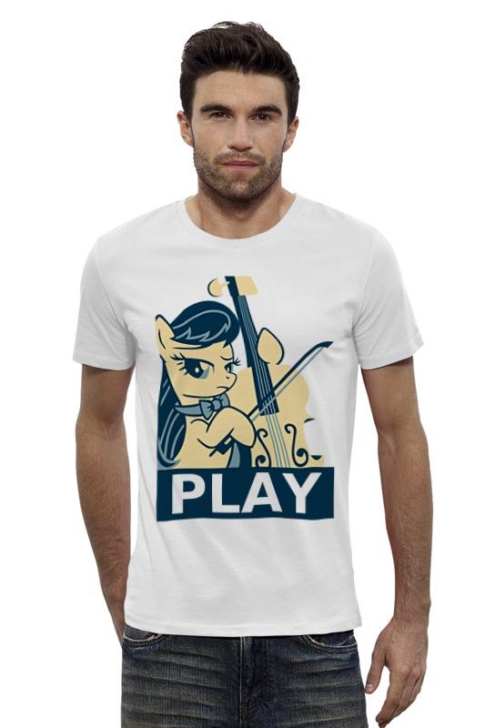 Футболка Wearcraft Premium Slim Fit Printio Mlp octavia play футболка классическая printio mlp octavia play