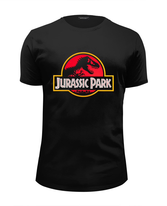 Футболка Wearcraft Premium Slim Fit Printio Jurassic park / парк юрского периода футболка рингер printio парк юрского периода