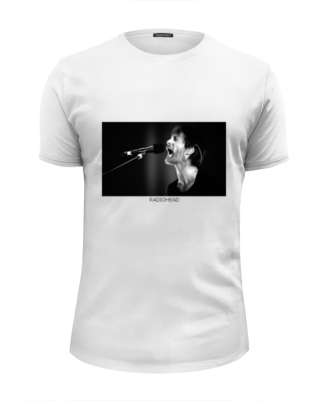 Футболка Wearcraft Premium Slim Fit Printio Radiohead t-shirt футболка wearcraft premium slim fit printio dota2 t shirt