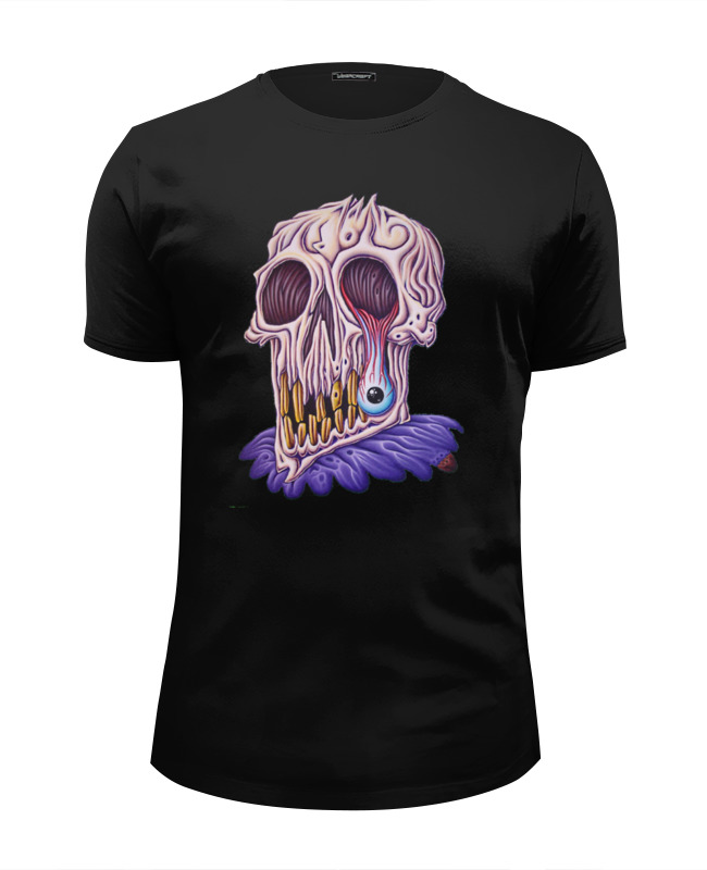 Футболка Wearcraft Premium Slim Fit Printio Zombie art футболка wearcraft premium slim fit printio pop art
