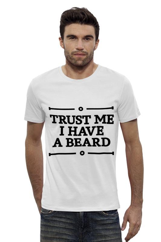 Футболка Wearcraft Premium Slim Fit Printio Trust me футболка wearcraft premium slim fit printio мишка me to you