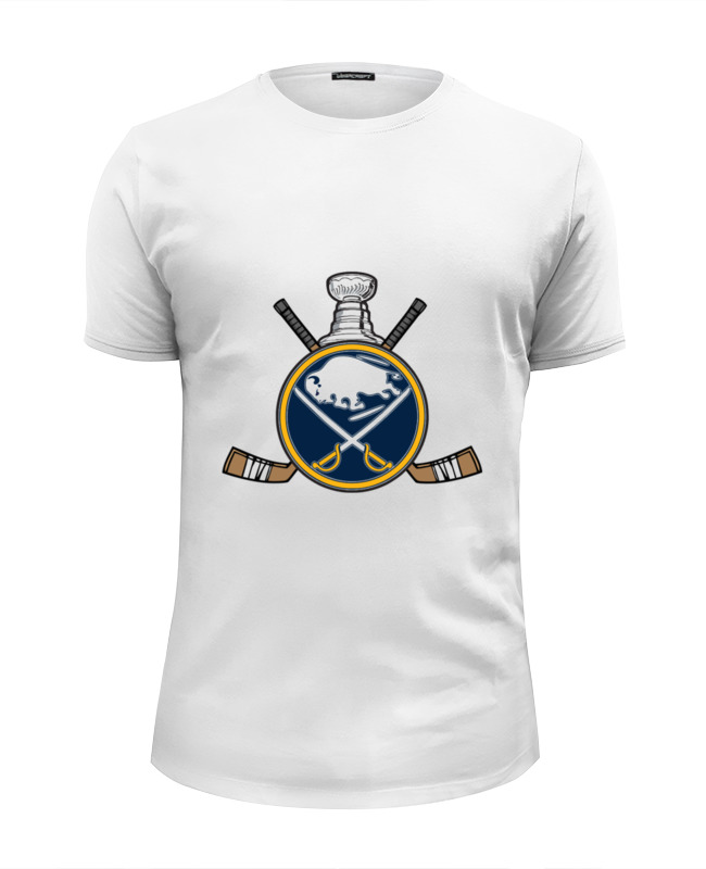 Футболка Wearcraft Premium Slim Fit Printio Buffalo sabres