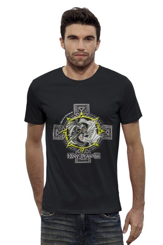 Футболка Wearcraft Premium Slim Fit Printio Holy dragons - обитель ветров (вар. 1) dragons фигурка toothless сидящий