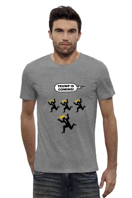 Футболка Wearcraft Premium Slim Fit Printio Трамп близко футболка wearcraft premium printio трамп великая россия