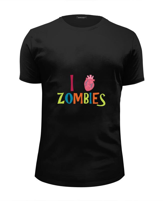 Printio Я люблю зомби футболка wearcraft premium slim fit printio я люблю питер