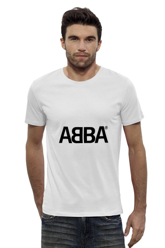 Футболка Wearcraft Premium Slim Fit Printio Группа abba