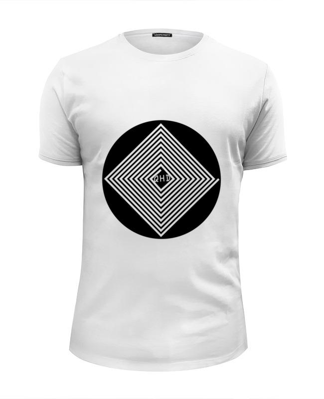 Футболка Wearcraft Premium Slim Fit Printio Лабиринт qhd детская футболка классическая унисекс printio лабиринт qhd