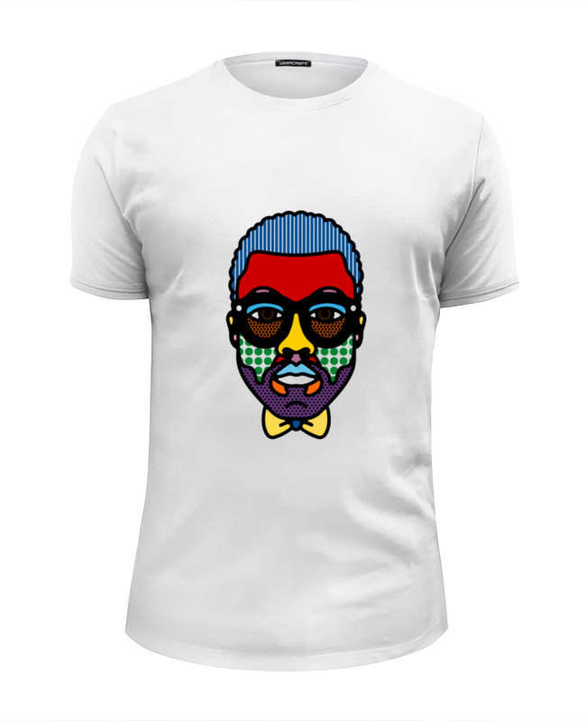 Футболка Wearcraft Premium Slim Fit Printio Kanye west футболка wearcraft premium slim fit printio k jah west radio