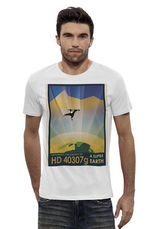 Футболка Wearcraft Premium Slim Fit Printio Космический туризм футболка wearcraft premium slim fit printio космический кит