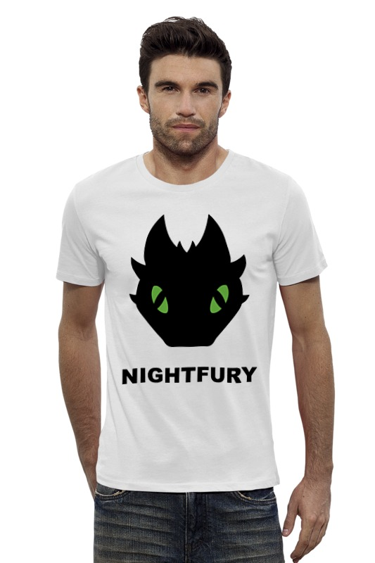 Футболка Wearcraft Premium Slim Fit Printio Ночная фурия (night fury) футболка wearcraft premium slim fit printio ночная сова