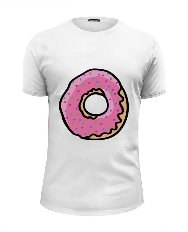 Футболка Wearcraft Premium Slim Fit Printio Пончик футболка wearcraft premium slim fit printio демонический пончик