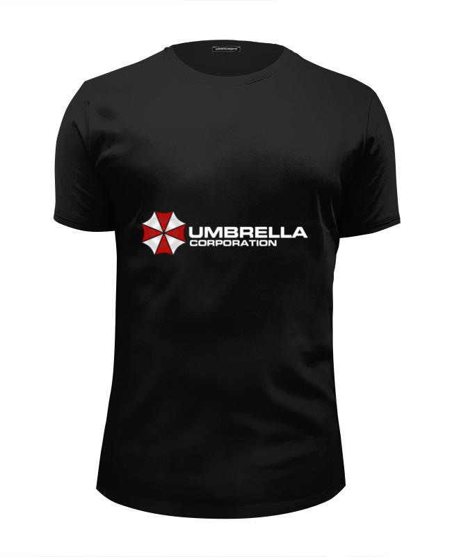 Футболка Wearcraft Premium Slim Fit Printio Umbrella sony ps4 resident evil revelations [русские субтитры]