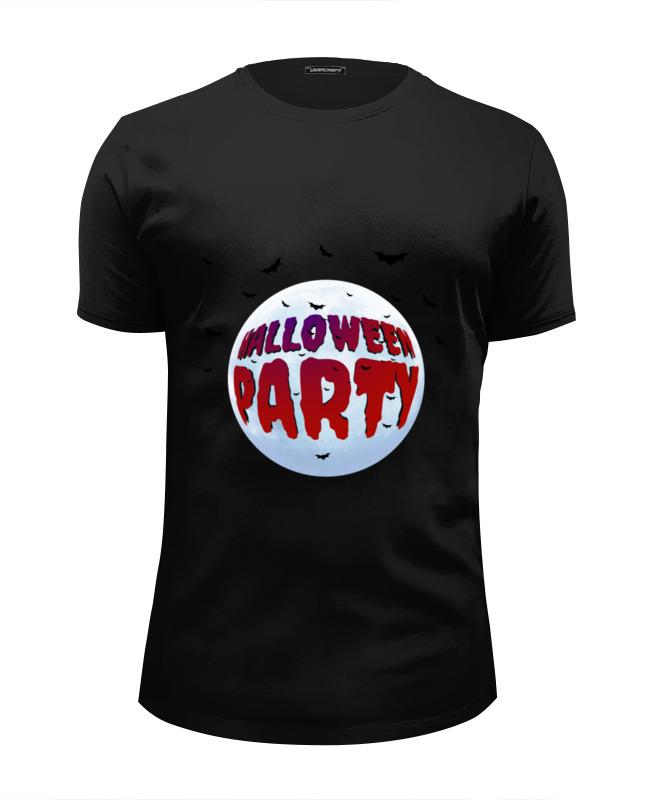 Футболка Wearcraft Premium Slim Fit Printio Хэллоуин вечеринка футболка это моя вечеринка