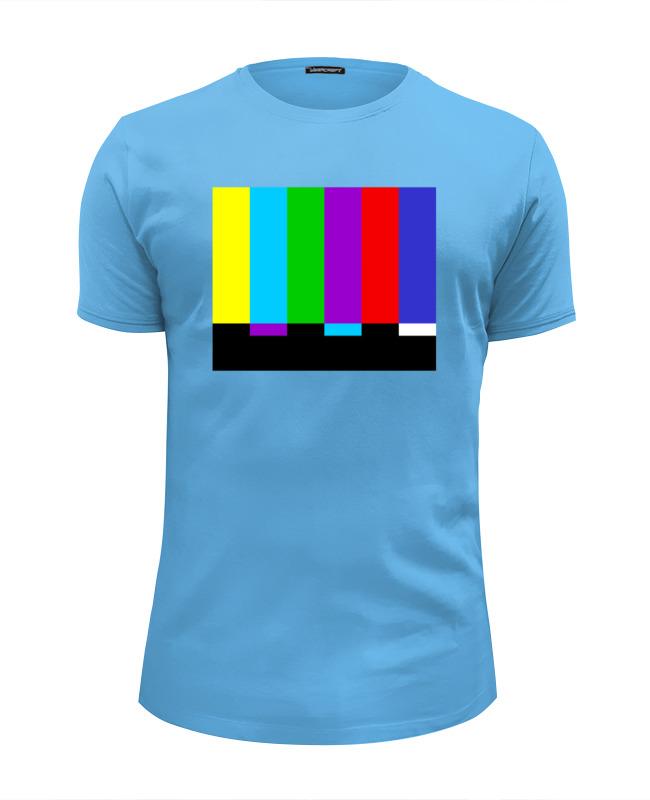 Футболка Wearcraft Premium Slim Fit Printio Телевизионная тест-таблица футболка wearcraft premium printio телевизионная тест таблица