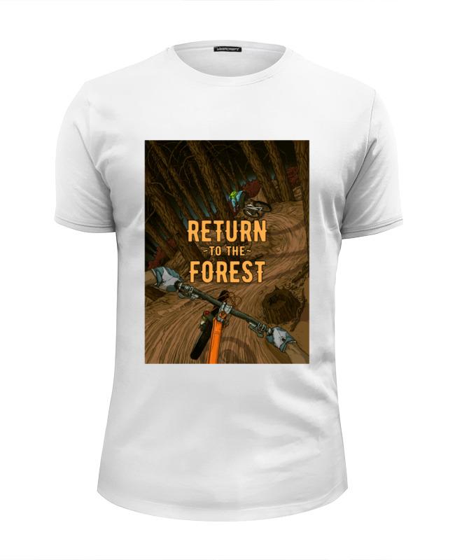 Футболка Wearcraft Premium Slim Fit Printio Return to the forest возвращайся в лес