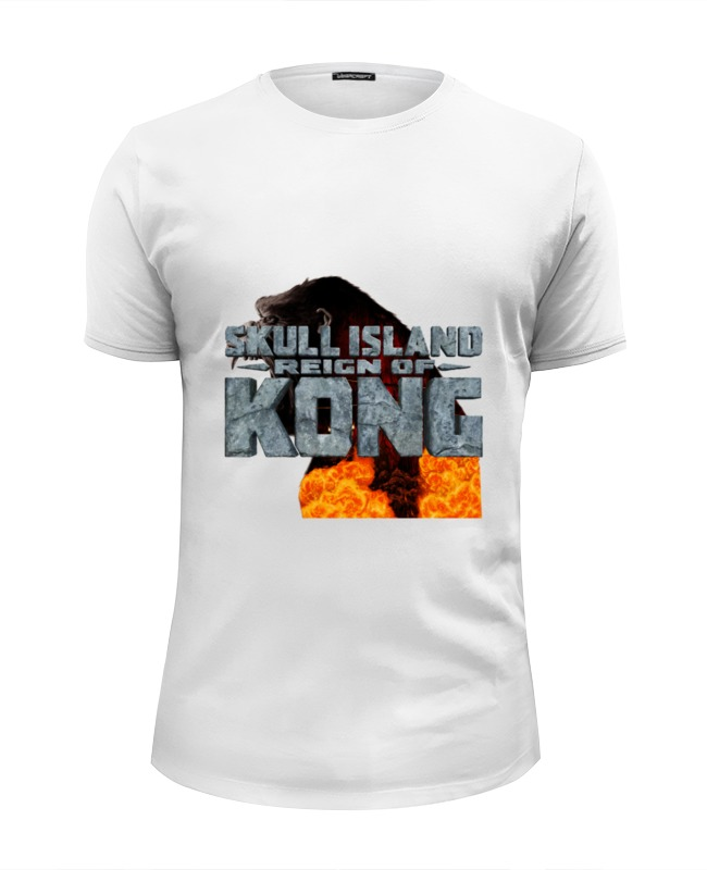 Футболка Wearcraft Premium Slim Fit Printio Skull island футболка wearcraft premium slim fit printio stone island