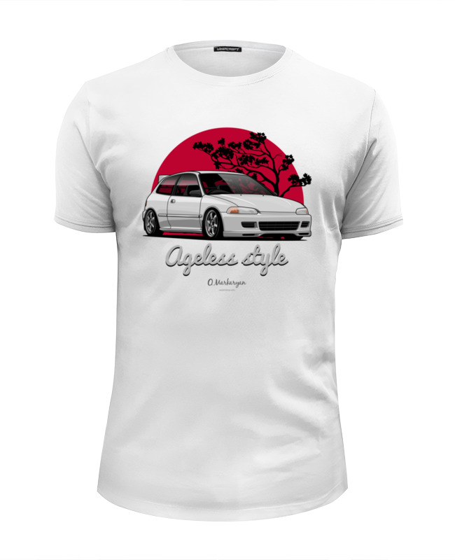 Printio Civic eg футболка wearcraft premium slim fit printio honda civic generation