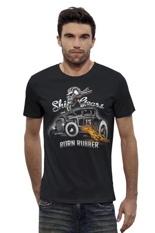Футболка Wearcraft Premium Slim Fit Printio Shift gears... футболка классическая printio shift gears and burn rubber