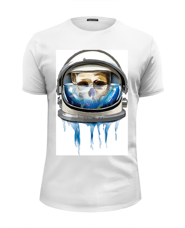 Футболка Wearcraft Premium Slim Fit Printio Dead astronaut