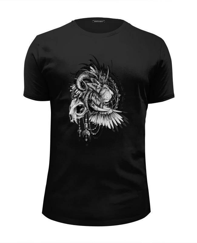 Футболка Wearcraft Premium Slim Fit Printio Lion in cages футболка wearcraft premium printio lion
