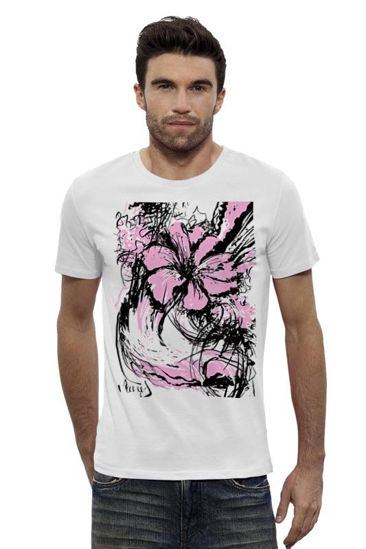 Футболка Wearcraft Premium Slim Fit Printio Flowers футболка wearcraft premium slim fit printio vampire