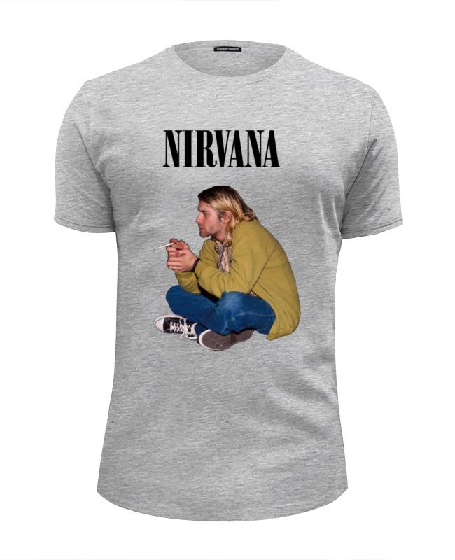Футболка Wearcraft Premium Slim Fit Printio Nirvana kurt cobain футболка wearcraft premium slim fit printio nirvana kurt cobain hello t shirt