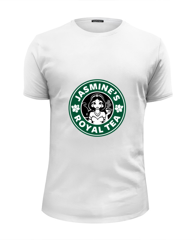 Футболка Wearcraft Premium Slim Fit Printio Принцесса жасмин футболка рингер printio принцесса жасмин