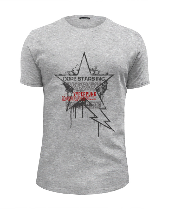 Футболка Wearcraft Premium Slim Fit Printio Dope stars inc. \ vyperpunk футболка для беременных printio dope stars inc vyperpunk