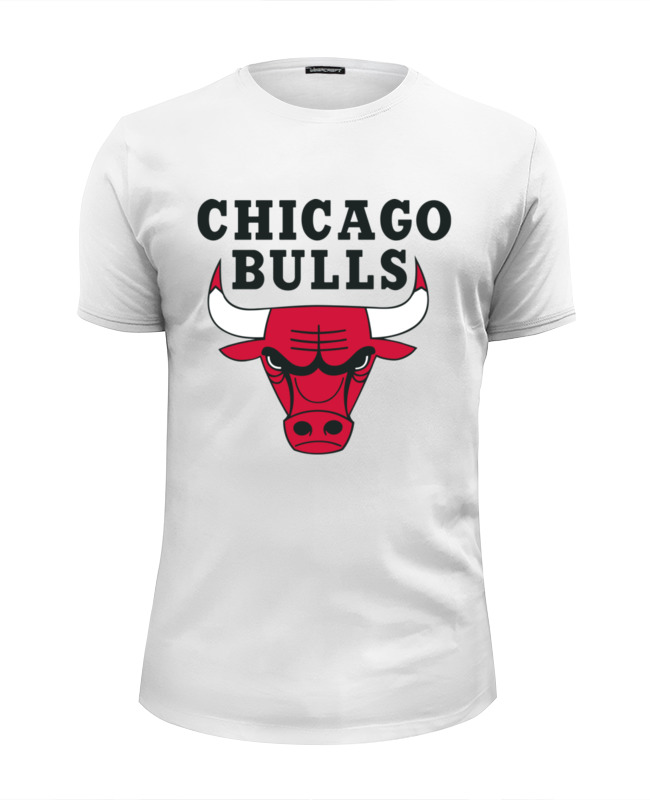 Футболка Wearcraft Premium Slim Fit Printio Chicago bulls футболка print bar chicago bulls