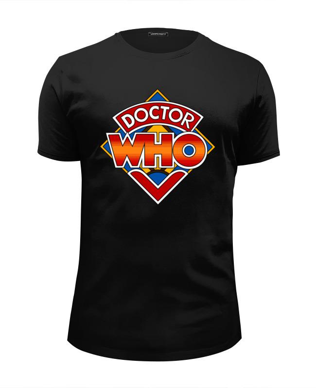 Футболка Wearcraft Premium Slim Fit Printio Доктор кто (doctor who) doctor who players