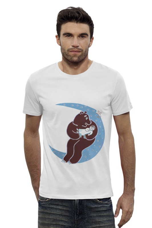 Футболка Wearcraft Premium Slim Fit Printio Колыбельная футболка wearcraft premium slim fit printio шахматиста