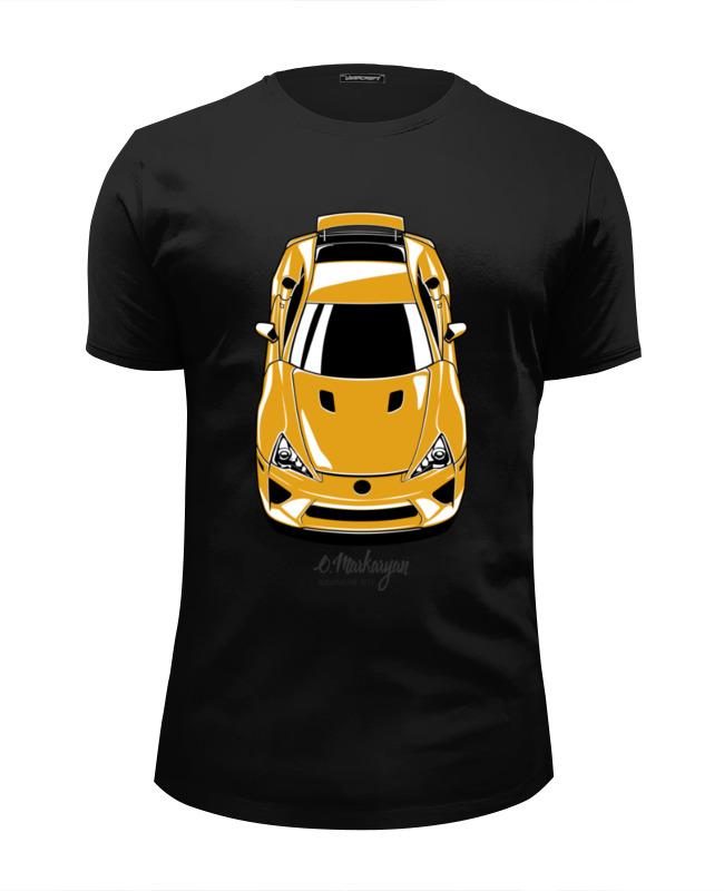 Футболка Wearcraft Premium Slim Fit Printio Lexus lfa