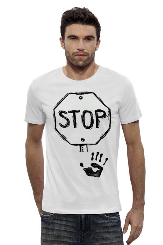 Футболка Wearcraft Premium Slim Fit Printio Stop! футболка wearcraft premium printio stop wars украина