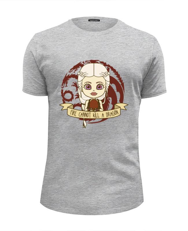 Футболка Wearcraft Premium Slim Fit Printio Огонь не убивает дракона футболка wearcraft premium slim fit printio дух дракона