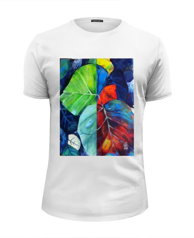 Футболка Wearcraft Premium Slim Fit Printio Джунгли kogankids kogankids футболка джунгли белая