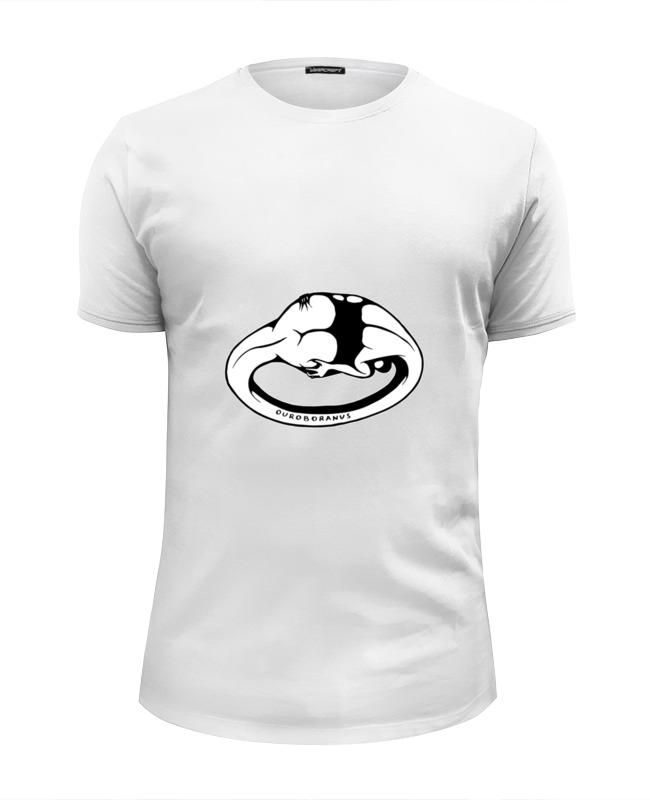 Футболка Wearcraft Premium Slim Fit Printio Ouroboranus creature футболка creature the bible white