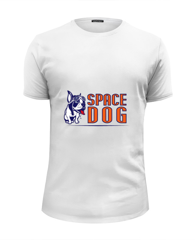 Printio Space dog футболка wearcraft premium slim fit printio roar dog