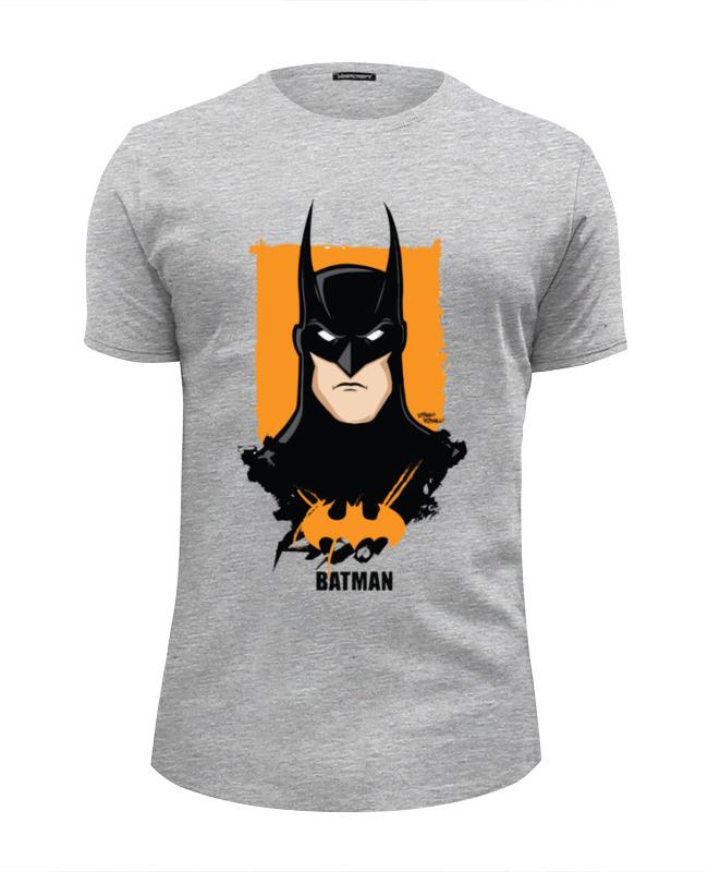 Футболка Wearcraft Premium Slim Fit Printio Batman/бэтмен футболка wearcraft premium slim fit printio batman time