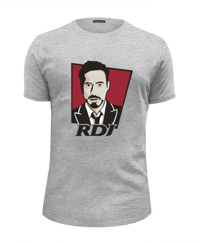 Футболка Wearcraft Premium Slim Fit Printio Роберт дауни футболка wearcraft premium slim fit printio spider man