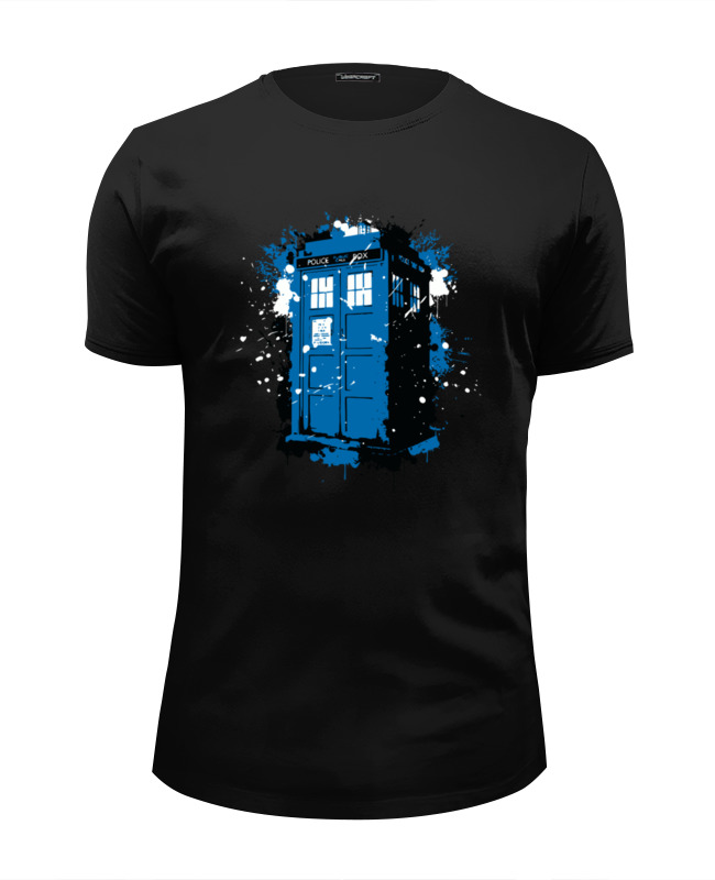 Футболка Wearcraft Premium Slim Fit Printio Tardis ink худи print bar tardis ink