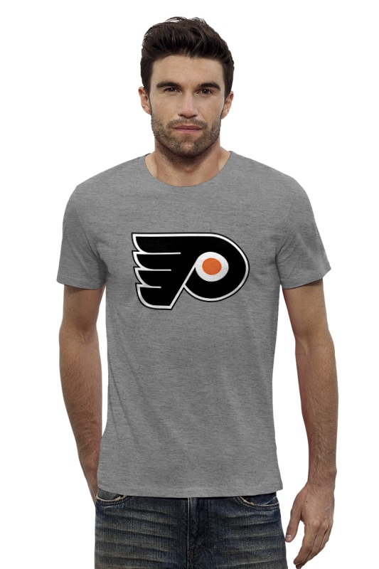 Футболка Wearcraft Premium Slim Fit Printio Philadelphia flyers / nhl usa футболка wearcraft premium printio los angeles kings nhl usa
